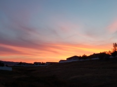 Wyo sunset