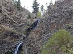 waterfall, Casper mountain